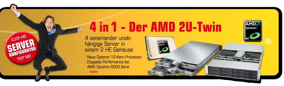 AMD Twin Server